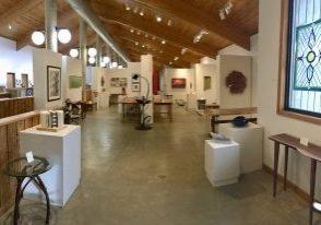 Allanstand Interiors on the second floor of the Folk Art Center