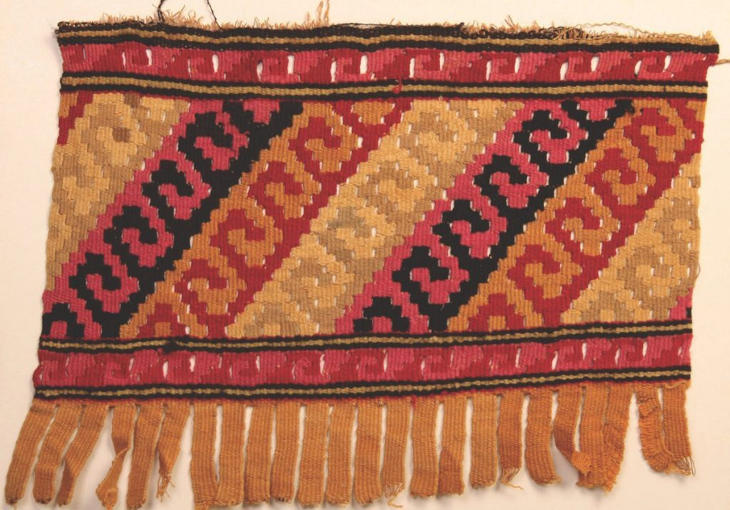 Peruvian Chancay Tapestry, AD 1000-1450