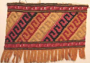 Peruvian Chancay Tapestry, AD 1000-1450