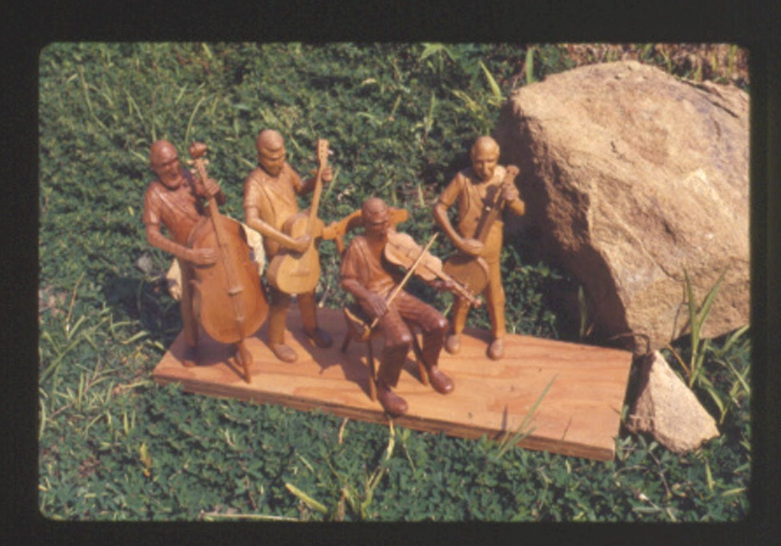 Old Time Band Carving by Wade Martin