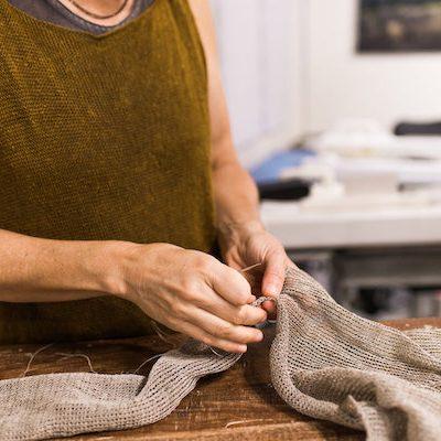 Cara Mae linen fiber