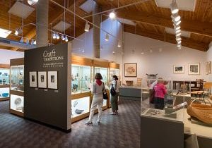 Interior shot of Permanet Collection: Craft Traditions